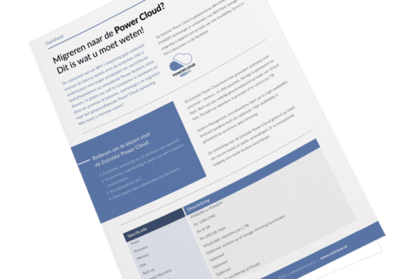 Factsheet migreren naar de power cloud