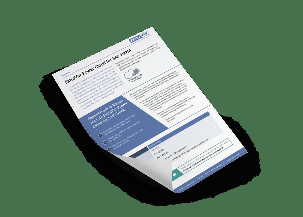 ExtraVar Power Cloud for SAP HANA